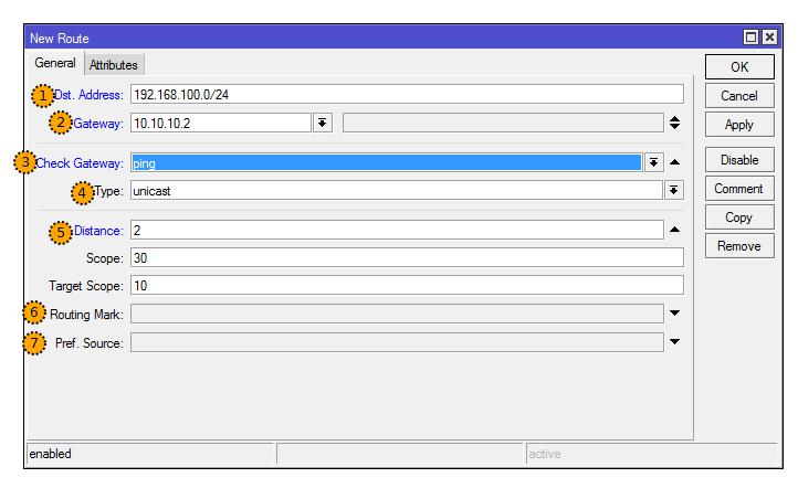 Основы статической маршрутизации в Mikrotik RouterOS - 5