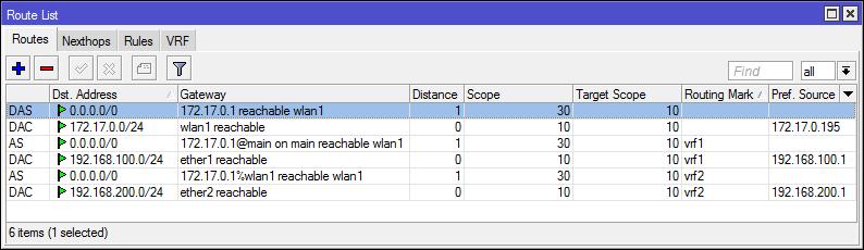 Основы статической маршрутизации в Mikrotik RouterOS - 58