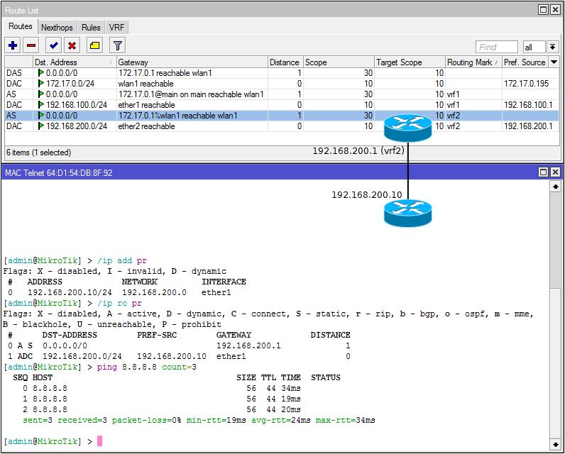 Основы статической маршрутизации в Mikrotik RouterOS - 60