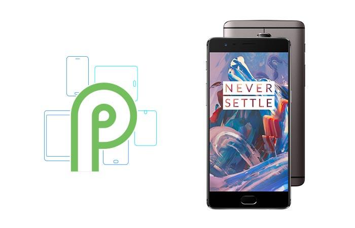 OxygenOS на базе Android 9.0 Pie для OnePlus 3 и OnePlus 3T на подходе