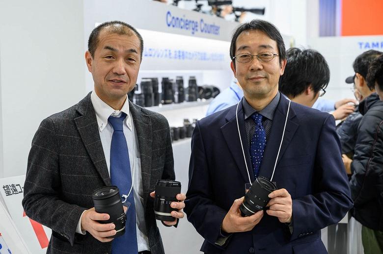 Tamron рассматривает возможность выпуска объективов для беззеркальных камер Canon EOS R и Nikon Z