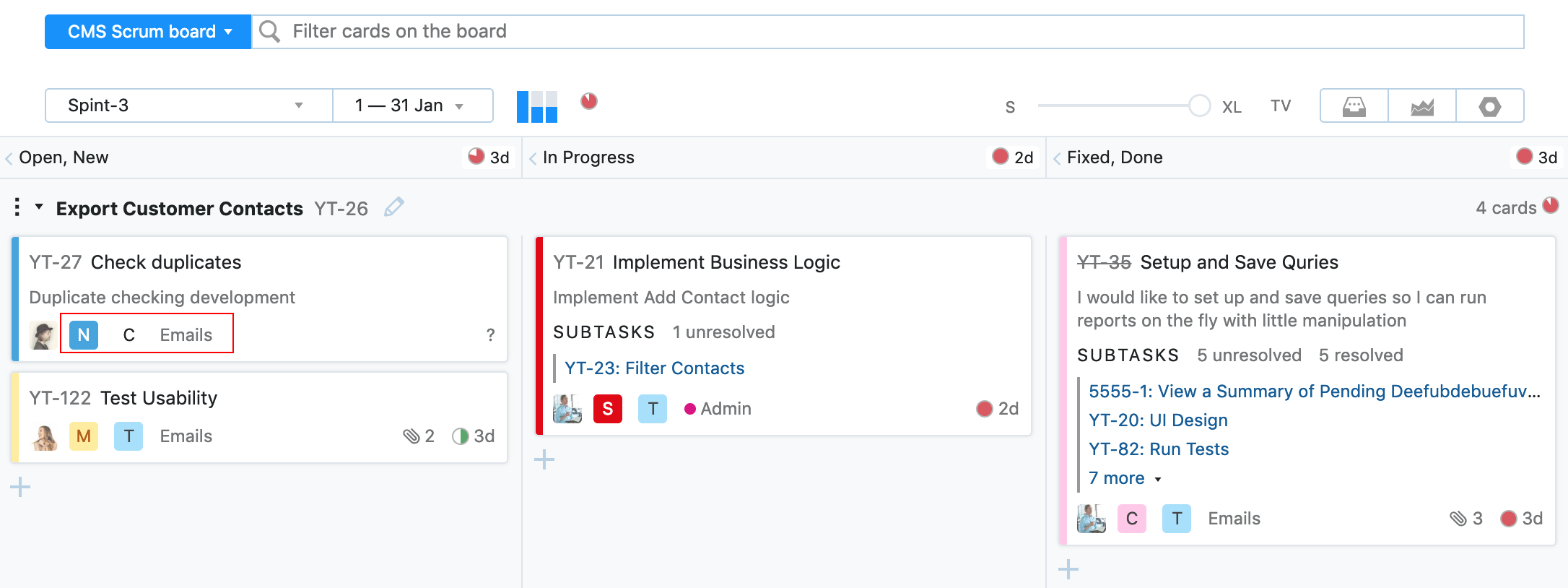 YouTrack 2019.1: избранные Agile-доски, настраиваемые поля для карточек на Agile-досках и многое другое - 5