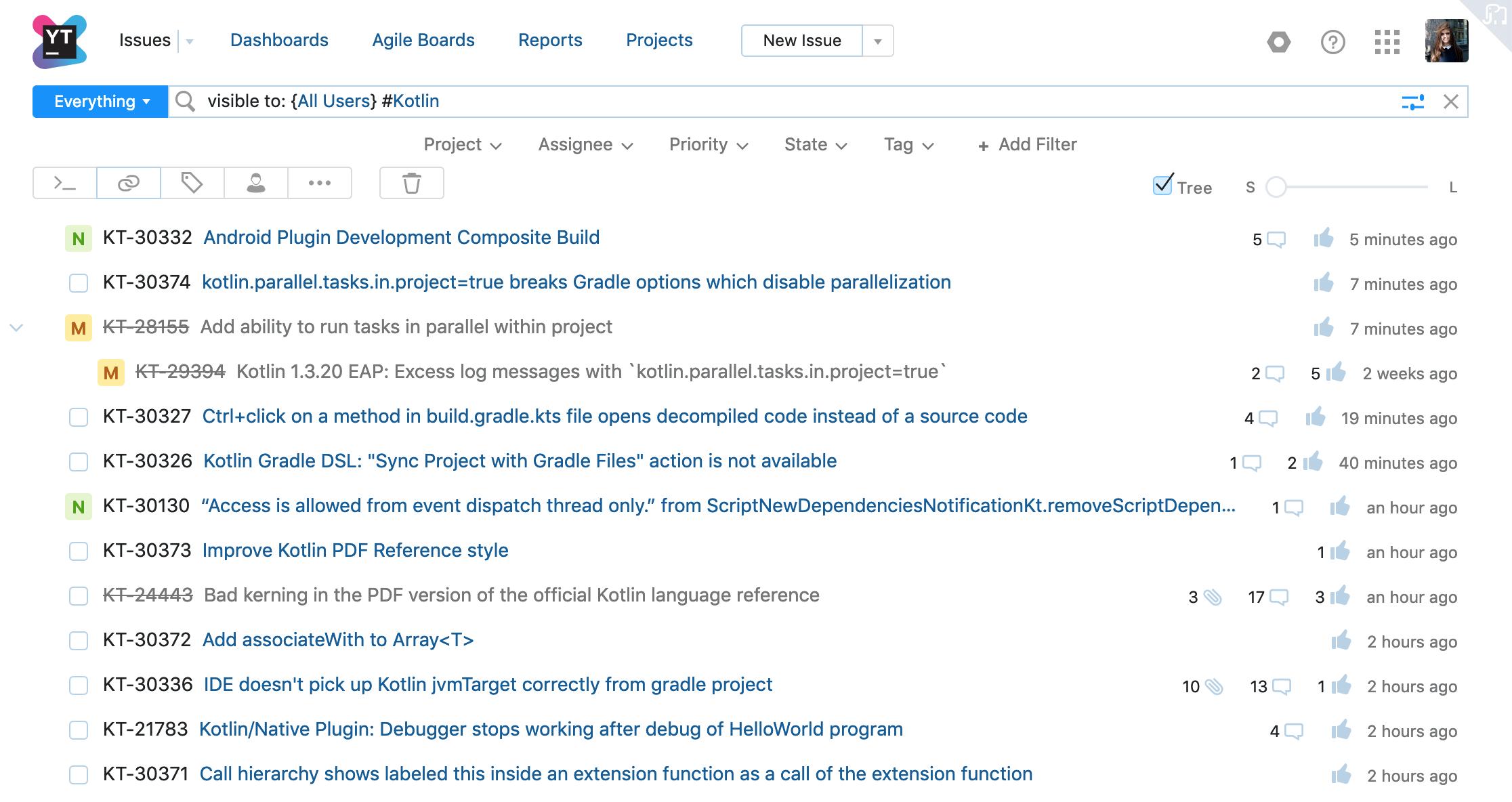 YouTrack 2019.1: избранные Agile-доски, настраиваемые поля для карточек на Agile-досках и многое другое - 8