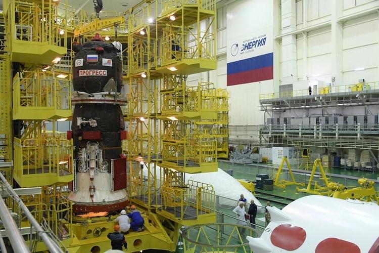 Фото дня: грузовой корабль «Прогресс МС-11» готовится к запуску