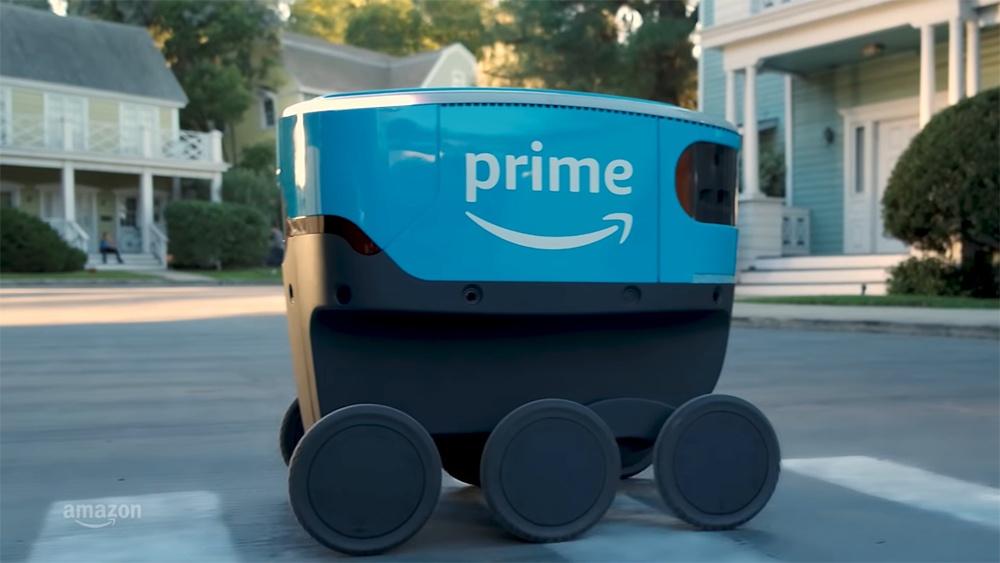 Как выглядят первые роботы-курьеры Amazon и FedEx - 2