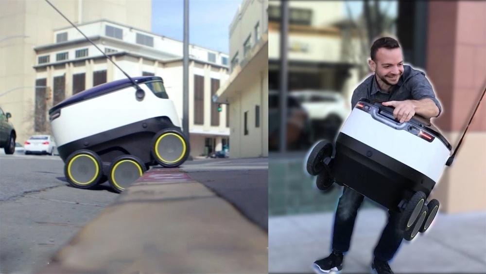Как выглядят первые роботы-курьеры Amazon и FedEx - 4