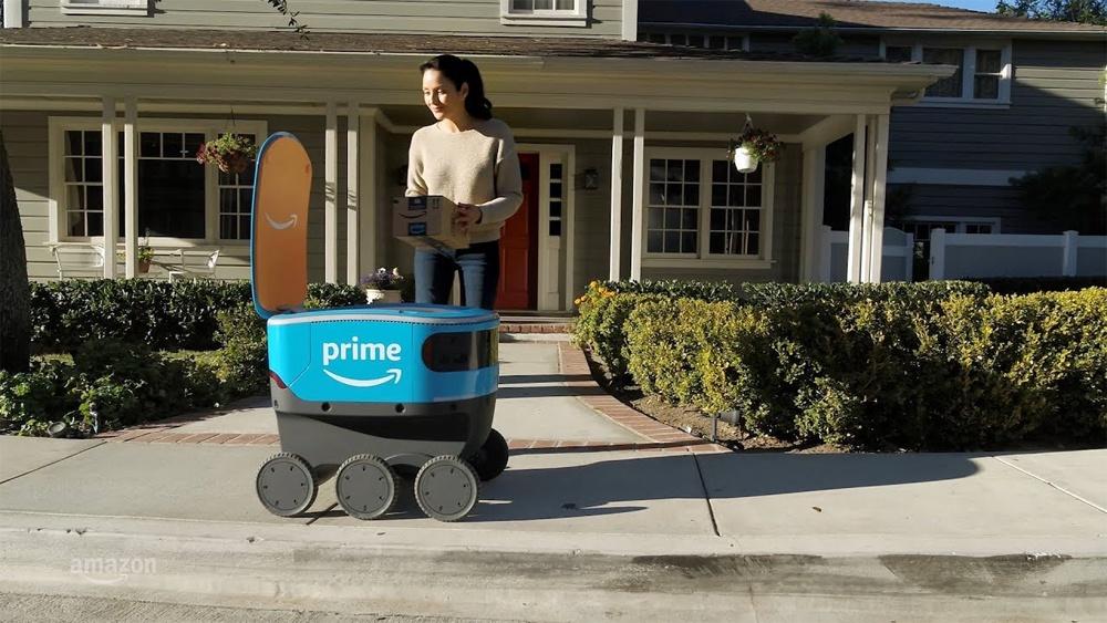 Как выглядят первые роботы-курьеры Amazon и FedEx - 5