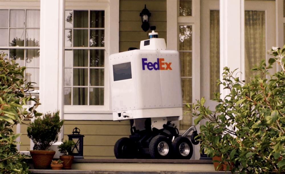 Как выглядят первые роботы-курьеры Amazon и FedEx - 7
