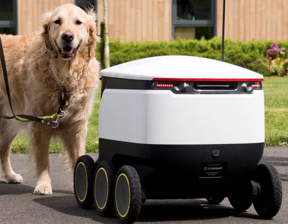 Как выглядят первые роботы-курьеры Amazon и FedEx - 1