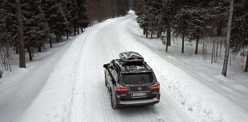 Монстр на каникулах: тест-драйв Lexus LX 570 Black Vision