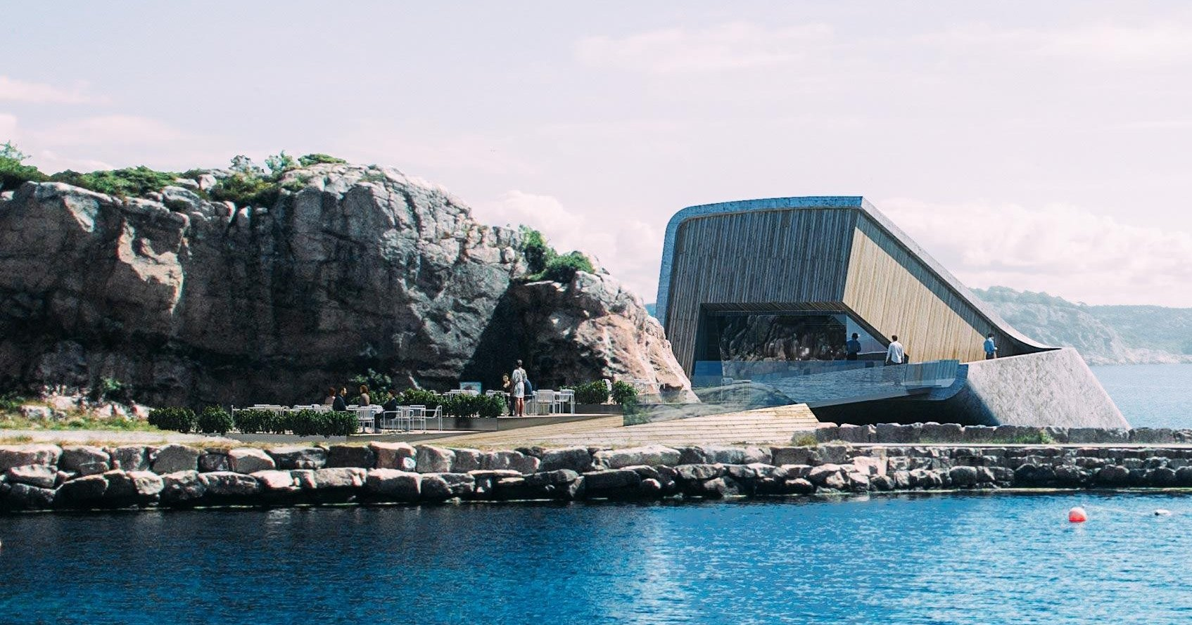 В Европе открылся первый подводный ресторан