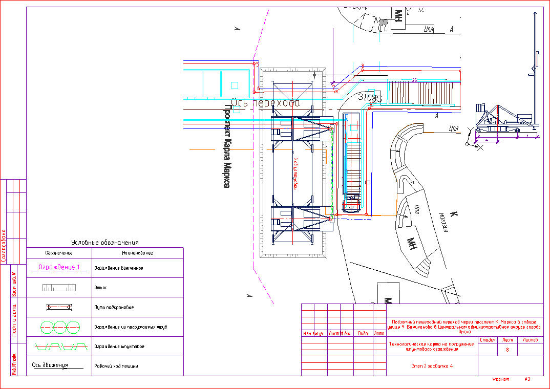 Возможности nanoCAD СПДС Стройплощадка в проектах строительства и реконструкции в стесненных условиях - 7