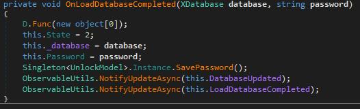 Извлечение мастер-пароля из заблокированного менеджера паролей SafeInCloud - 4