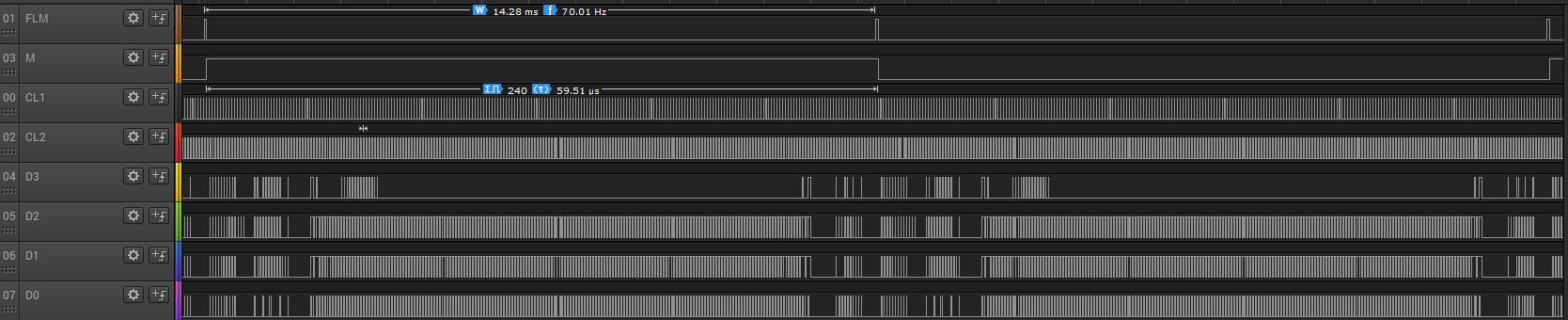 Управление ЖК-матрицей F-51543NFU-LW-ADN - PWB51543C-2-V0 (от ленточной библиотеки) - 8