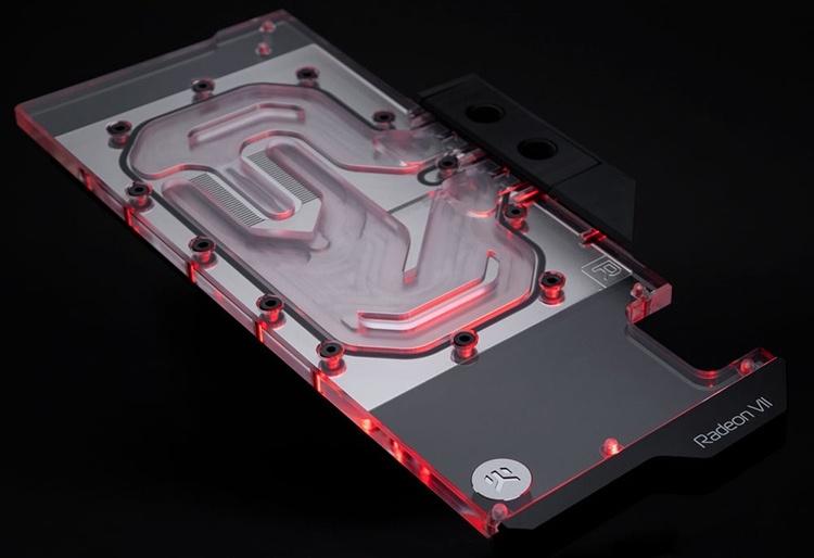 EK Water Blocks выпустила водоблок полного покрытия для видеокарты Radeon VII