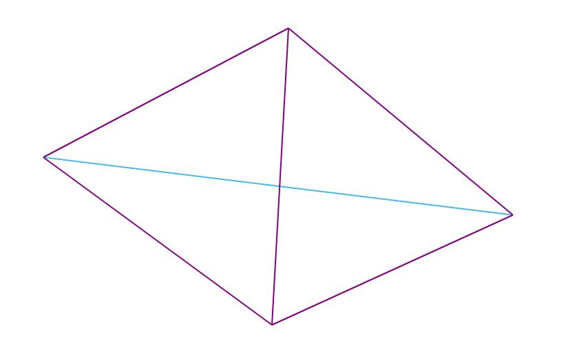 Алгоритм триангуляции Делоне методом заметающей прямой - 3