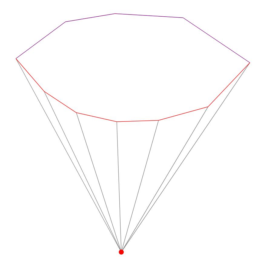 Алгоритм триангуляции Делоне методом заметающей прямой - 4