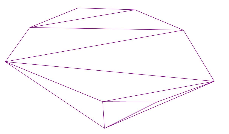 Алгоритм триангуляции Делоне методом заметающей прямой - 1