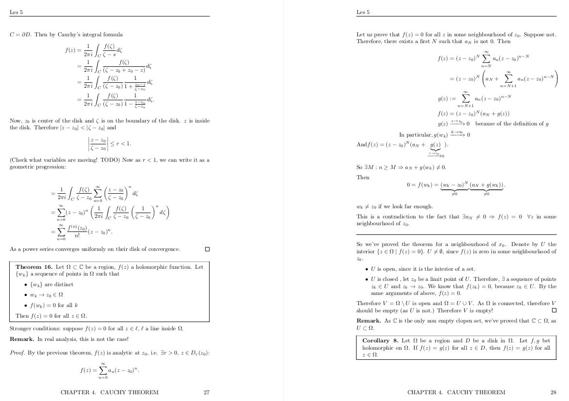 Как я пишу конспекты по математике на LaTeX в Vim - 1
