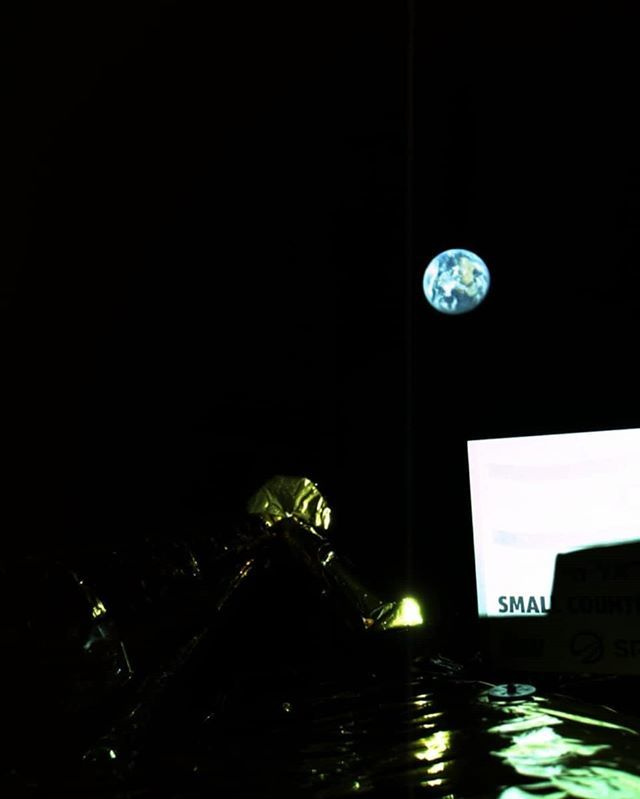 Лунная миссия «Берешит» – первое видео с бортовой камеры и новые фотографии в космическом пространстве - 11
