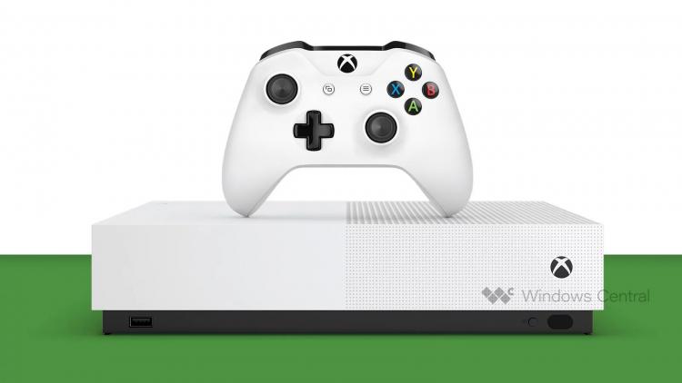 Слухи: Xbox One S All-Digital без дисковода поступит в продажу 7 мая