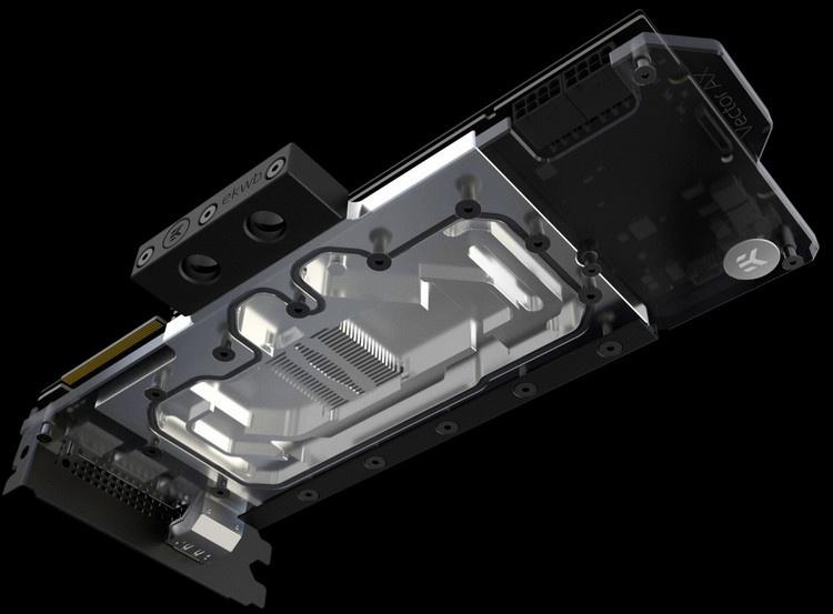EK Water Blocks представила алюминиевый водоблок полного покрытия для GeForce RTX