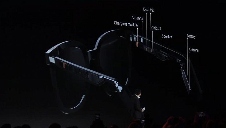 Huawei представила умные очки с динамиками и беспроводной зарядкой