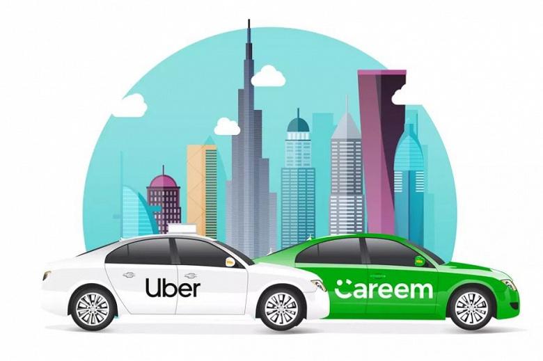 Uber покупает конкурирующую компанию Careem за 3,1 млрд долларов