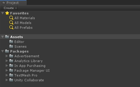 Unity Package Manager - 3