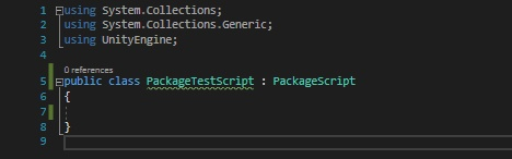Unity Package Manager - 5