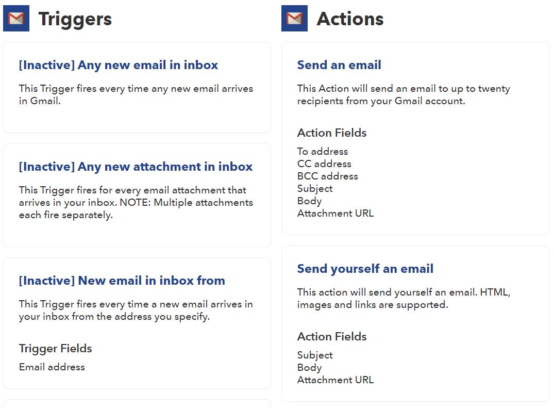 Все триггеры IFTTT в Gmail перестанут работать со следующей недели - 2