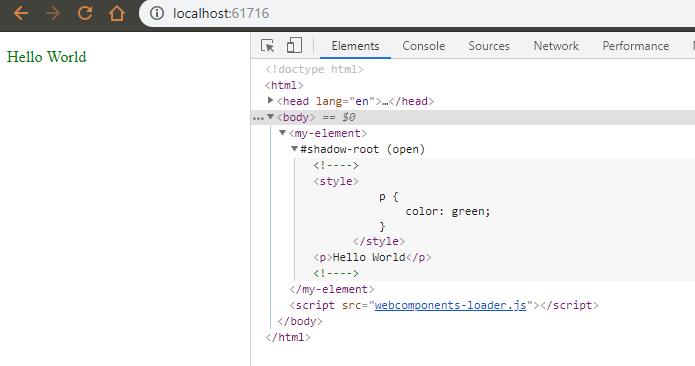 Знакомство с lit-element и веб-компонентами на его основе - 5