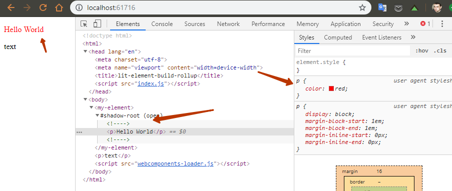 Знакомство с lit-element и веб-компонентами на его основе - 6