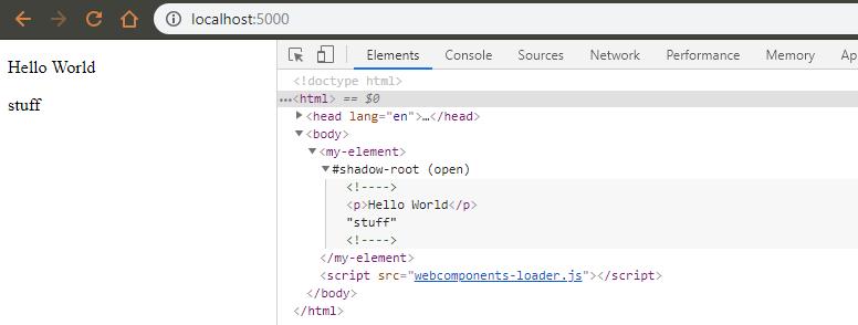 Знакомство с lit-element и веб-компонентами на его основе - 1
