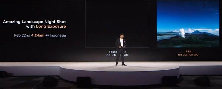 Очень странное сравнение. Huawei принижает возможности камер конкурентов, рекламируя Huawei P30 Pro