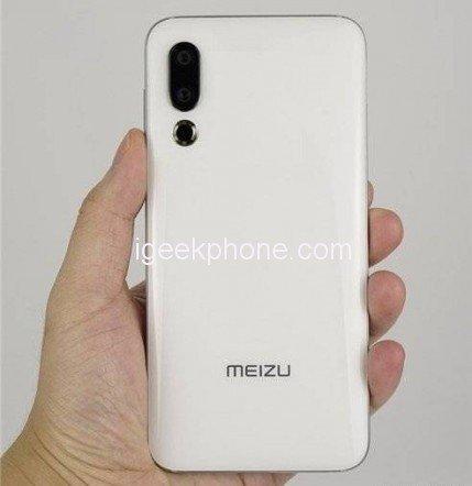Первые фото задней панели Meizu 16s не позволяют окончательно понять, сколько модулей будет в основной камере