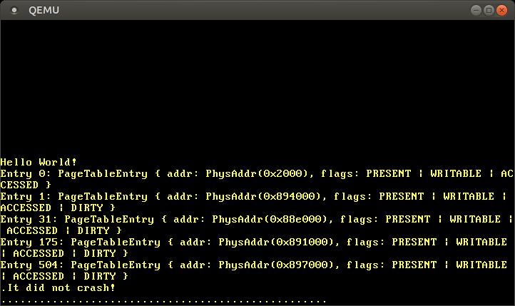 Пишем операционную систему на Rust. Реализация страничной памяти (новый вариант) - 15