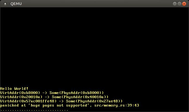 Пишем операционную систему на Rust. Реализация страничной памяти (новый вариант) - 16