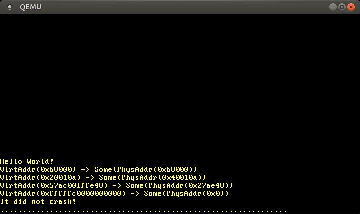 Пишем операционную систему на Rust. Реализация страничной памяти (новый вариант) - 17