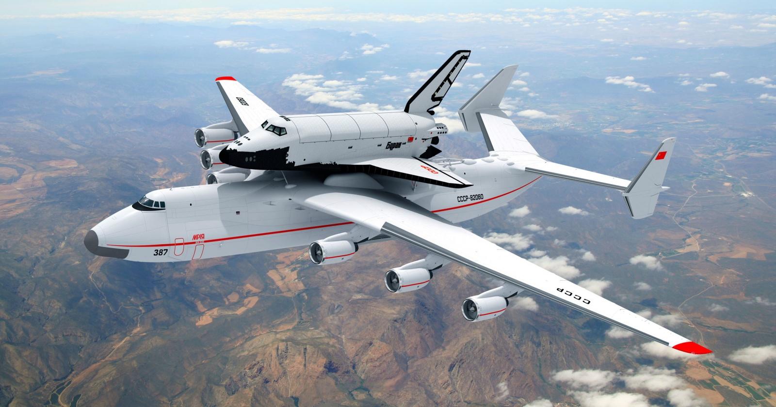 Рекордсмен, каких свет не видывал: Ан-225 «Мрия»