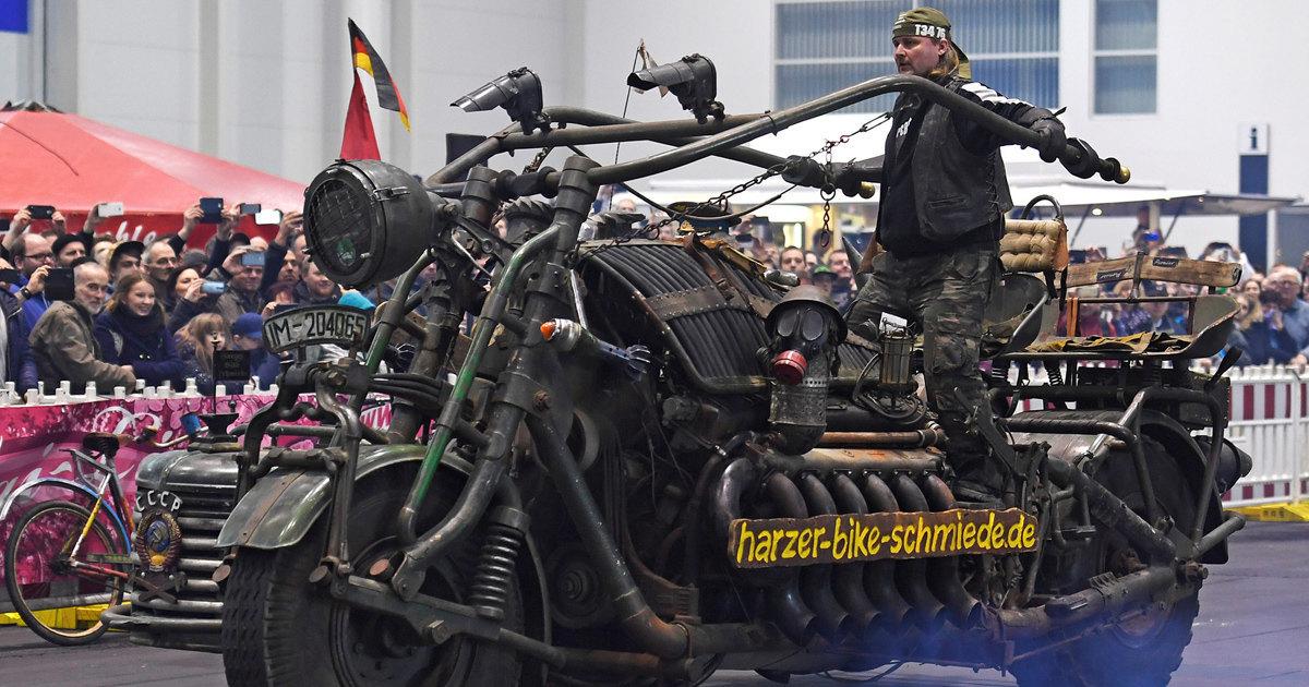 Самый большой мотоцикл мира