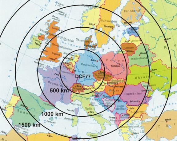 DCF77: как работает система передачи сигналов точного времени? - 3