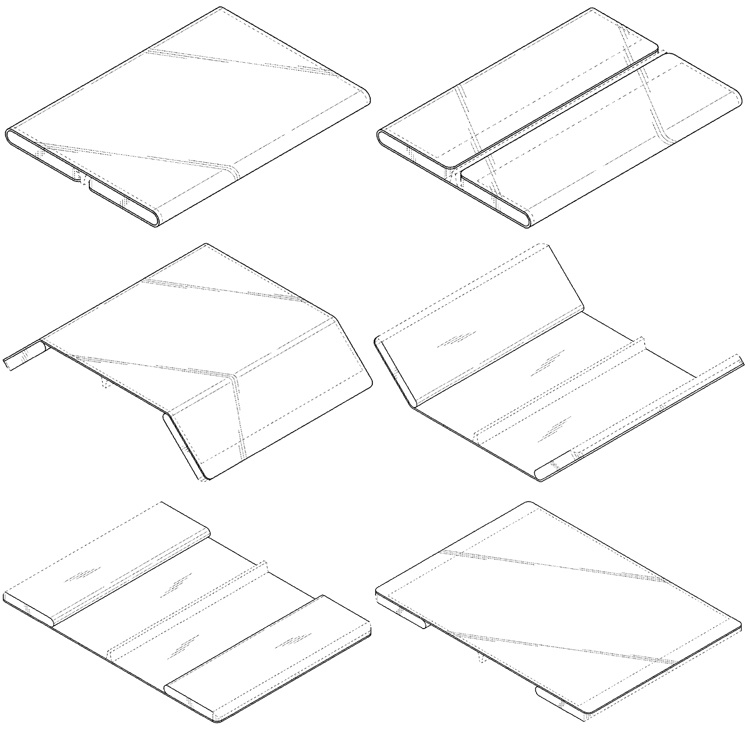 Samsung и Xiaomi разрабатывают телефоны с двойным складным экраном - 2