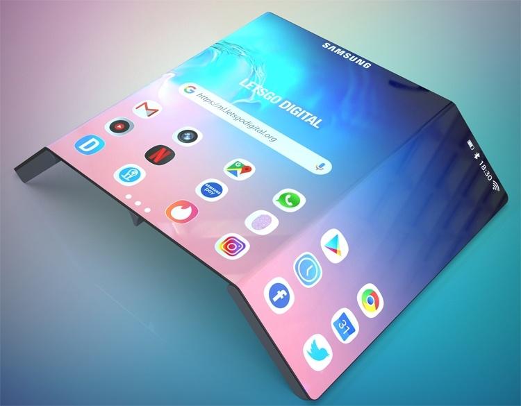 Samsung и Xiaomi разрабатывают телефоны с двойным складным экраном - 5