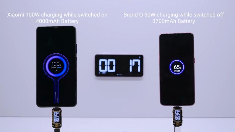 Быстрая зарядка от Xiaomi за 17 минут заряжает 4000 мАч батарею с 0 до 100% - 1