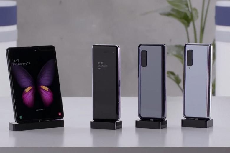 Кнопку Bixby в Samsung Galaxy Fold спрятали в неожиданном месте