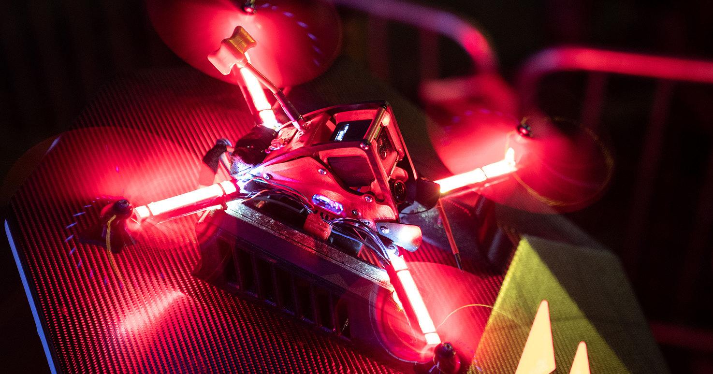 Гонки на дронах DCL: прямая трансляция из Швейцарии