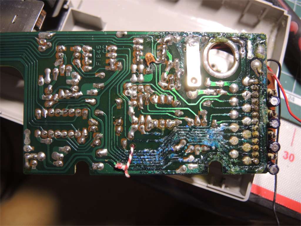 Ремонт устройства хранения и печати заметок Sharp Memowriter EL-7000 после протечки аккумуляторов - 3