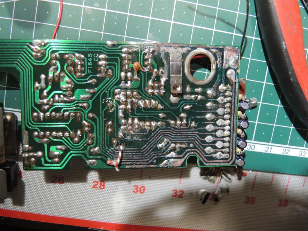 Ремонт устройства хранения и печати заметок Sharp Memowriter EL-7000 после протечки аккумуляторов - 5