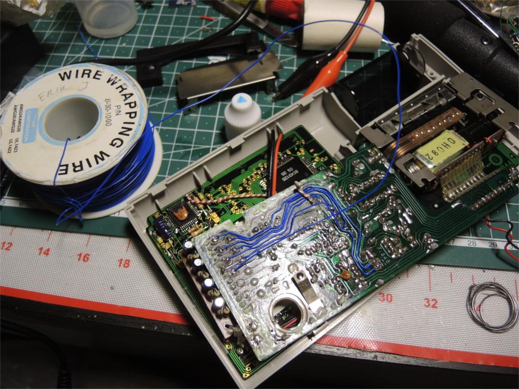 Ремонт устройства хранения и печати заметок Sharp Memowriter EL-7000 после протечки аккумуляторов - 6